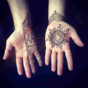 Designer Mehndi : Hand, Fingers, Leg & Some Mens Designs.
